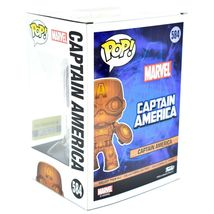 Funko Pop! Marvel Captain America Entertainment Earth Exclusive Wood Deco #584 image 3