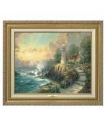 Thomas Kinkade - Light of Peace – Canvas Classic (Gold Frame) - $474.98