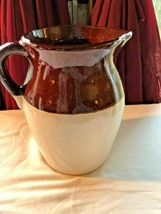 Vintage R.R.P. Roseville Pottery Pitcher 8 Inch Mint - $11.99
