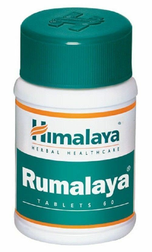 Primary image for 15X Himalaya Herbals Rumalaya 60 Tablets FOR Pain Joint (FAST FREE SHIPPING)