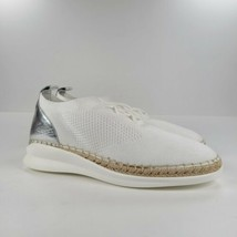 Vince Camuto Affina Slip On Sneakers 131, Pure Sport Knit, White Size 8.5M - $39.60