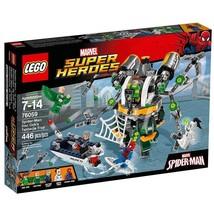 Lego Marvel Superheroes Spider Man Doc Ock's Tentacle Trap (Slight Dent ... - $44.54