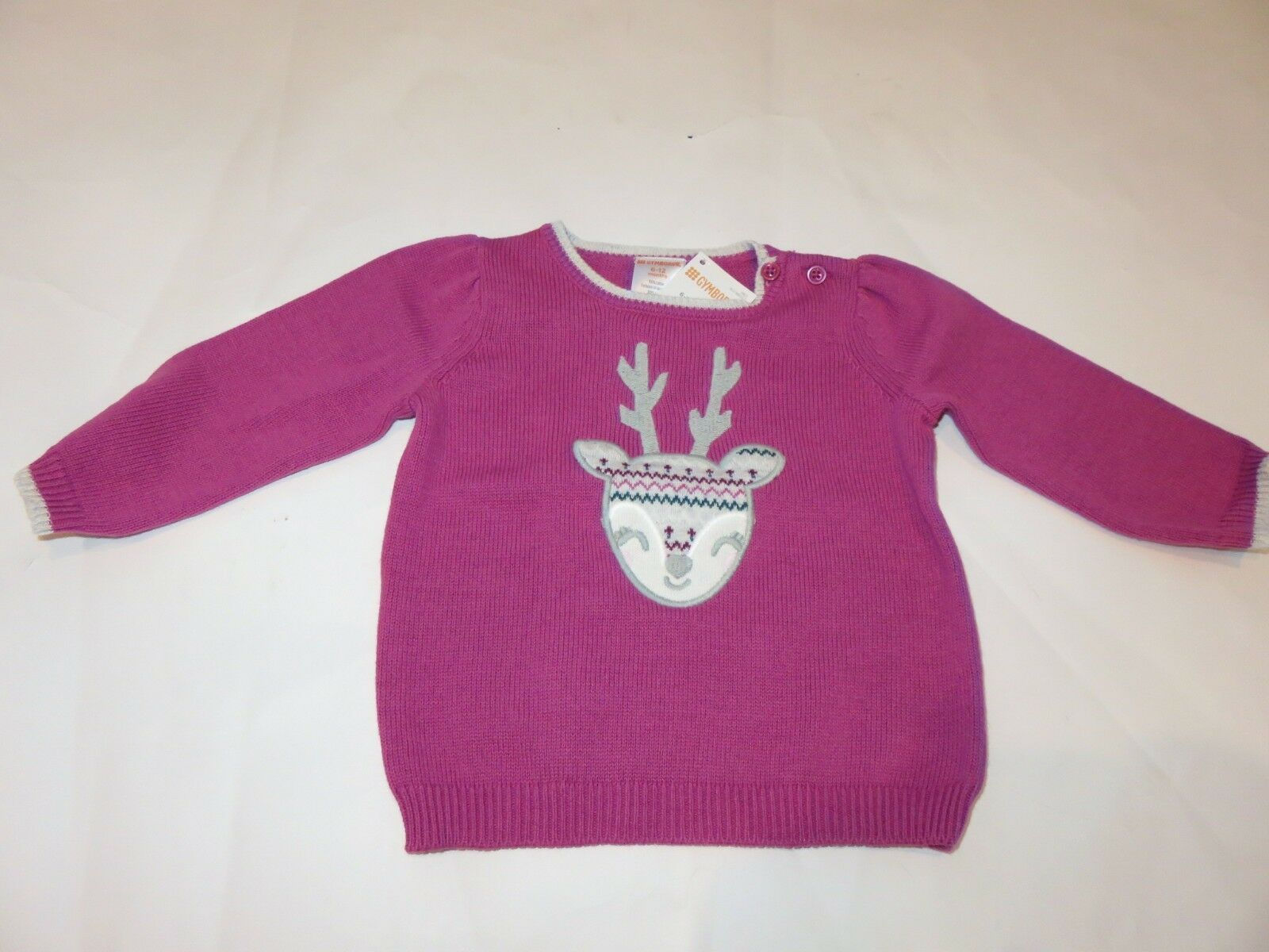 1107ba89099 Gymboree Baby Girl Fairisle Deer sweater and 11 similar items. 57