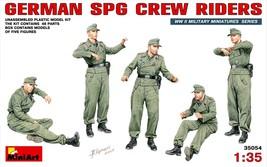 Miniart Models - 35054 - German SPG Crew Riders - $14.99