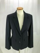 Banana Republic Women's Blue Pinstripe Blazer 10 - $34.95