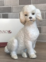 Nao by Lladro 02001655 SWEET POODLE Porcelain Figurine Glased New  - $175.00