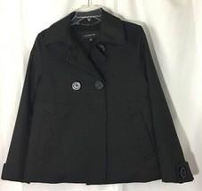 Womens Jones New York Black Babydoll Jacket Size Medium - $15.47
