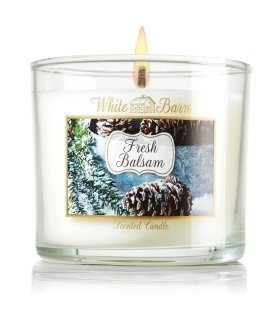 White Barn FRESH BALSAM Scented Candle 4 oz / 113 g