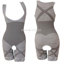 Women Shaper 1pc suit Charcoal Sculptig Bamboo - $16.99+