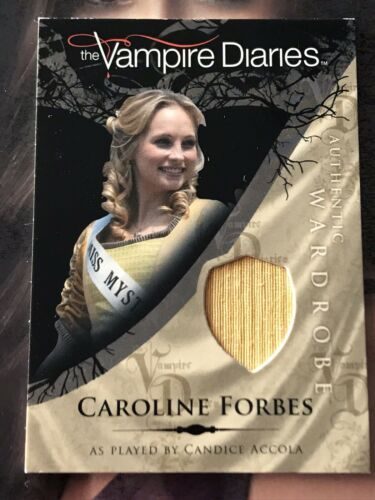 Primary image for Vampire Diaries Season 1 Wardrobe Card M11 Candice Accola As Caroline Forbes
