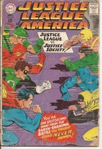 DC Justice League Of America #56 Justice League vs Justice Society  - $5.95