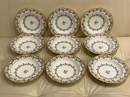Minton G8339 Rim Soup Bowls Plates Made for Caldwell & Co Philadelphia - $197.01
