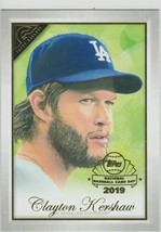 2019 Topps Gallery Preview National Baseball Card Day #GPCK Clayton Kershaw - $1.85