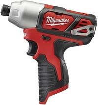 Milwaukee 2462-20 12-Volt Lithium-Ion Cordless 1/4 in. Hex Impact Tool Only - $75.00