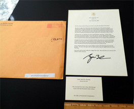 White House Holiday Letter  George Bush - New Year's 2006 - $15.00