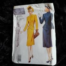 Vintage 2353 Womans Suit Jacket & Skirt 1946 Design Sizes 6 8 10 UNCUT - $14.00