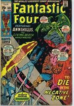Fantastic Four #109 ORIGINAL Vintage 1971 Marvel Comics Annihilus Negati... - $37.25