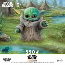Star Wars The Mandalorian The Child Grogu Frog Hunt 550 Piece Puzzle Mul... - $19.98