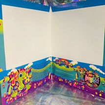 WOW GREAT VTG LISA FRANK Peekaboo Turtle Folder 90-00s Very Nice image 4