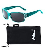 Polarized Sunglasses for Women - Premium Teal Fashion Sunglasses - HZ Se... - $19.98