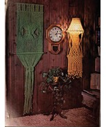 If You Can Tie Shoestring, You Can Do Macrame - Vintage macrame book - D... - $5.00