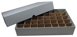 Coin Roll Box for 40 Rolls or Tubes of SMALL DOLLARS by Guardhouse - $13.61