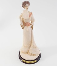 Marlo Collection by Artmark Victorian Lady Figurine with a fan in her hand image 1