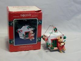 "Enesco Treasury of Christmas Ornament ""Christmas To Go"" - $13.86"