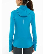 Nike XS Element Turquoise Aqua Blue Fleece Lined Thermal 1/2 Zip Running... - $34.64