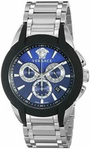 Versace Men's VQN050015 Character Stainless Steel Chronograph Watch - $799.99