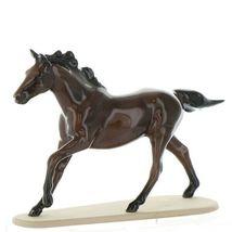 Hagen Renaker Miniature Horse Thoroughbred Seabiscuit Ceramic Figurine Boxed image 4