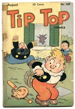 Tip Top Comics #109 1945- Captain and the Kids- G - $37.83