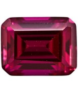 Ruby - 7x5mm Emerald Cut Loose Lab-Created Gemstone - $9.80