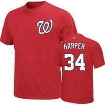 Bryce Harper Washington Nationals MLB NWT t-shirt Nats new with tags Bas... - $18.74