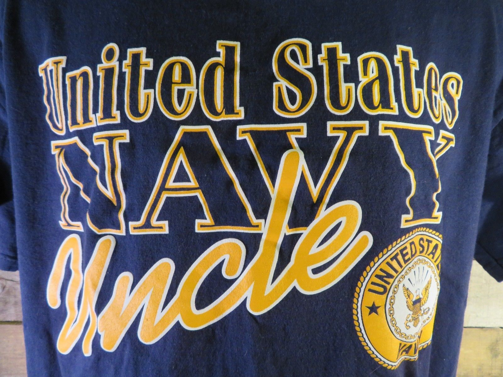35028c8b United States Navy Uncle T-Shirt Size L and 50 similar items