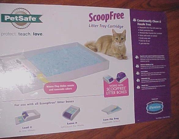 PetSafe ScoopFree Litter Refill Tray Single Tray PAC00-14229 New - $34.64