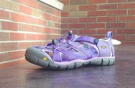 KIDS KEEN SEACAMP SANDALS SZ 5Y EUR 38 SLIP ON ULTRA VIOLET NEW W/O BOX ... - $24.75