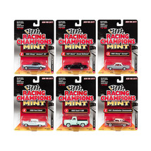 2017 Mint Release 2 Set A Set of 6 Cars 1/64 Diecast Model Cars by Racin... - $65.39