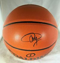 JOEL EMBIID / PHILADELPHIA 76ERS / AUTOGRAPHED FULL SIZE NBA BASKETBALL / COA image 1