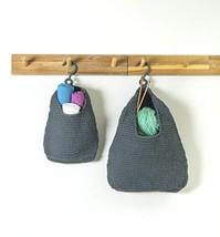 AURALEAP Large Hanging Storage Basket As Home Décor, Bin Bag for Door Or... - $28.01