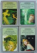 Nancy Drew Twin Thrillers 4 Lot 10602, 10605, 10609, 10614 Carolyn Keene hc - $15.00