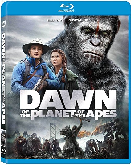 Dawn Of The Planet Of The Apes [Blu-ray] (2014)