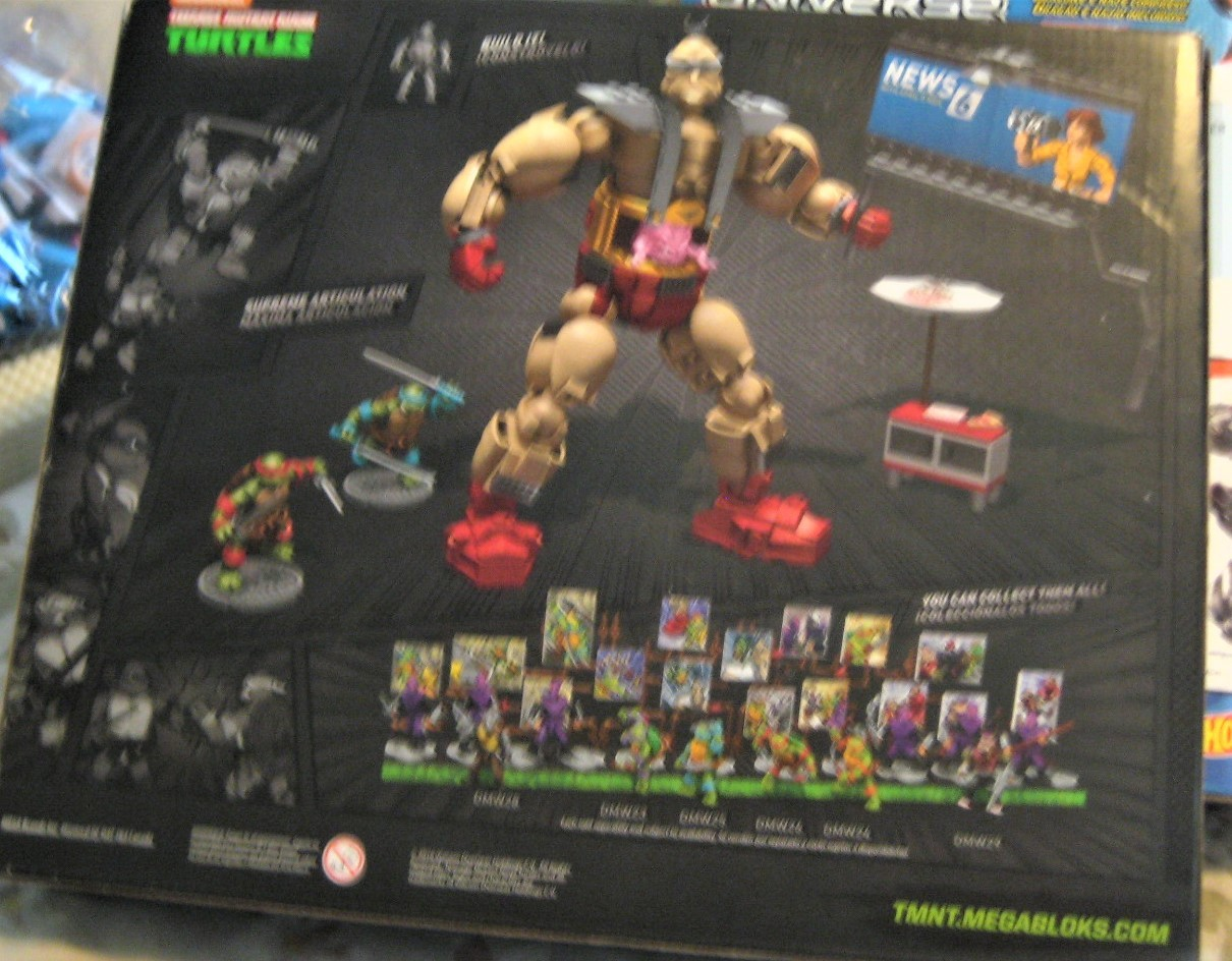 Mega Bloks - Teenage Mutant Ninja Turtles Krang's Rampage Set (new) image 7