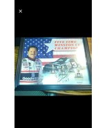 Dale earnhardt - 5 time Winston Cup Champ Autographed - $59.99
