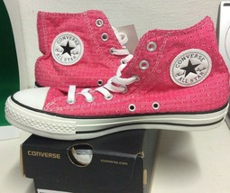 New Converse Women's Chuck Taylor All Star Hi Sneakers Berry Pink 547260C Size 6 - $49.95