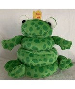 "North American Bear Co Stacking Toy Frog Prince Plush Stuffed 10"" Fairy ... - $23.99"