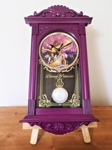Disney Rapunzel pendulum clock watch clock Glockenspiel Houseware Ladies - $55.44
