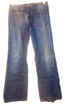Sz 28 Waist - DKNY Jeans 100% Cotton Pocketless Blue Jean Denim Low Rise... - $28.49
