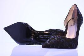 Vegan High Goth Black Pointy Sz 11 Pumps Sexy Lace LUICHINY Toe Heel Women's E1Rwq10