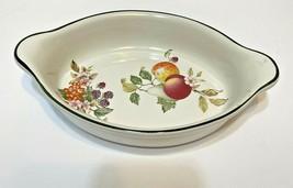 Vintage Johnson Brothers 1994 Cloverleaf England Fruit Casserole Dish 9 ... - $25.47